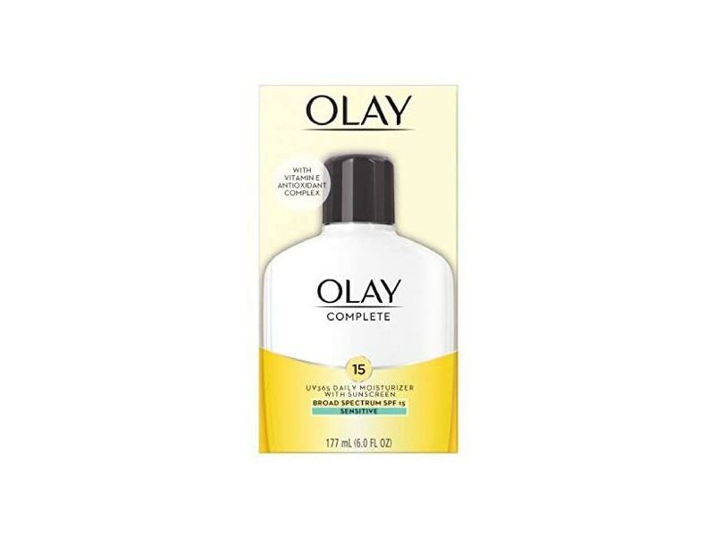 Olay Complete All Day Moisturizer with Sunscreen, SPF 15, 177 mL