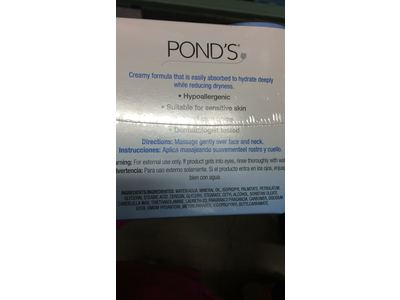 Pond's Dry Skin Cream, 10.1 Oz., 2 pk., with Bonus 3.9 Oz. Travel Size - Image 4