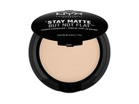 NYX PROFESSIONAL MAKEUP Stay Matte but not Flat Powder Foundation, Nude, 0.26 Ounce - Image 2