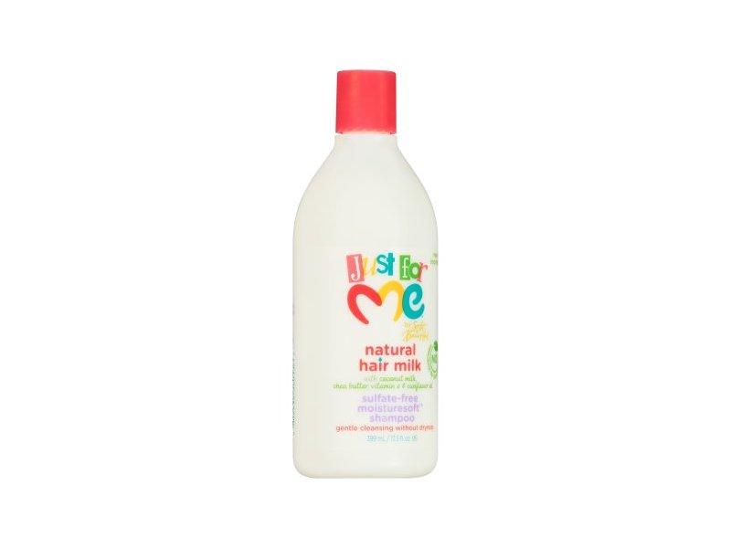 Just For Me Natural Hair Milk Sulfate-Free Moisturesoft Shampoo, 13.5 fl oz