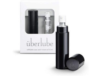 Uberlube Refillable Case & 1 Insert, 15 mL