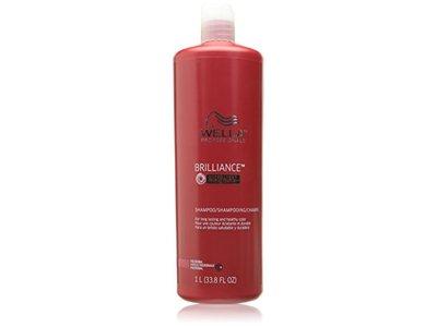Wella Professionals Brilliance Shampoo, 33.8 fl oz