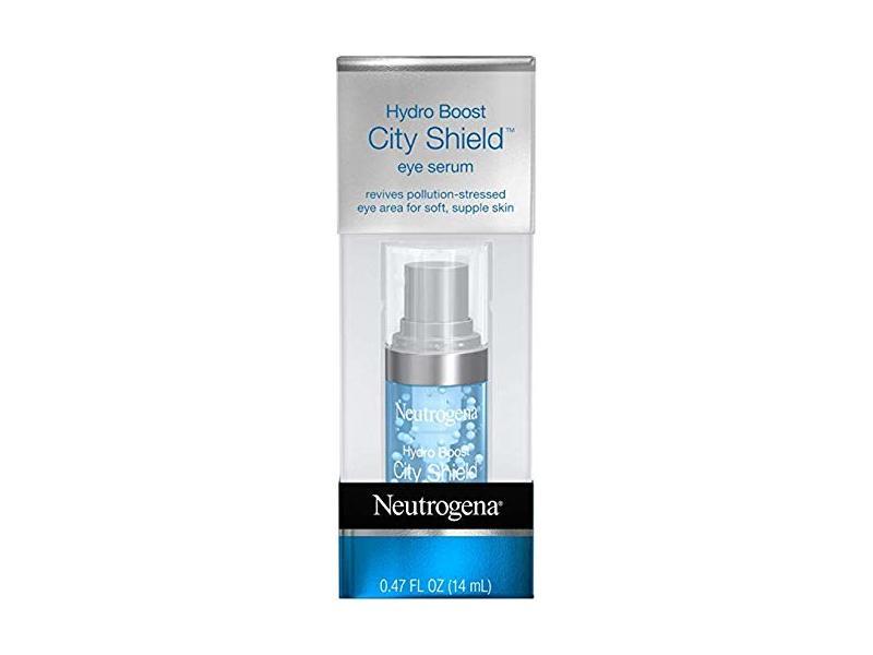 Neutrogena Hydro Boost City Shield Hydrating Eye Serum, 0.47 oz (Pack of 2)