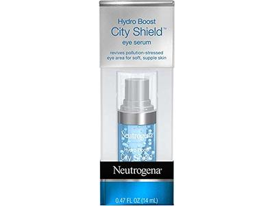 Neutrogena Hydro Boost City Shield Hydrating Eye Serum, 0.47 oz (Pack of 2)