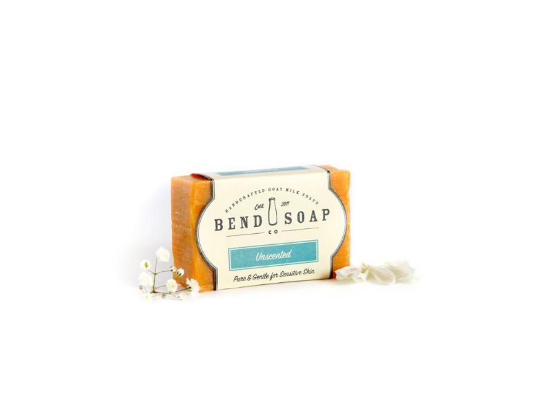 Bend Soap Company Unscented Goat Milk Soap, 4.5 oz