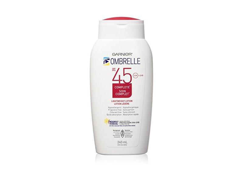 L'Oreal Ombrelle Sunscreen SPF 45 w/ MEXORYL, 8 oz
