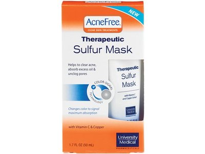 AcneFree Therapeutic Sulfur Mask, 1.7 oz