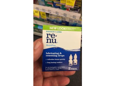 Bausch & Lomb ReNu MultiPlus Lubricating & Rewetting Drops, 0.27-Ounce - Image 9