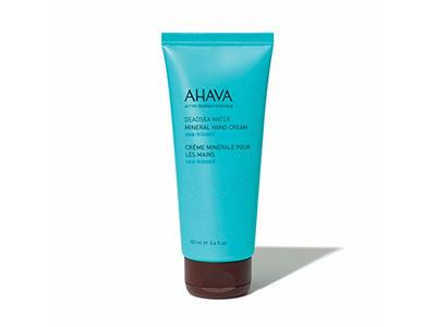 AHAVA Dead Sea Water Mineral Hand Cream, Sea-Kissed, 3.4 fl oz/100 mL