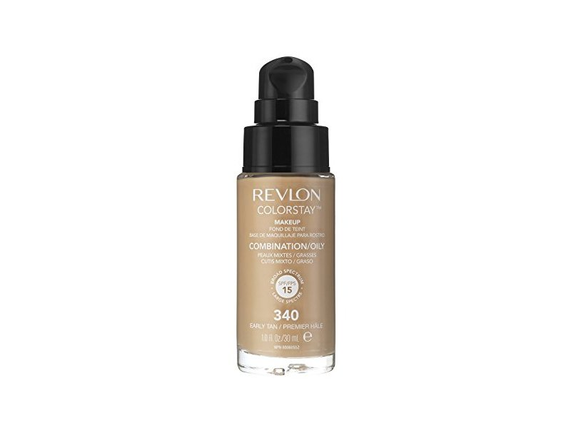 Revlon Colorstay Pump 24HR Make Up SPF15 Comb/Oily Skin, Early Tan, 30ml