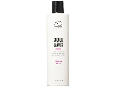 AG Hair Cosmetics Color Savor Sulfate Free Shampoo, 10 Ounce