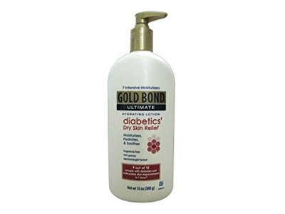 Gold Bond Skin Relief Lotion Diabetics Dry Skin Relief 13 Ounce