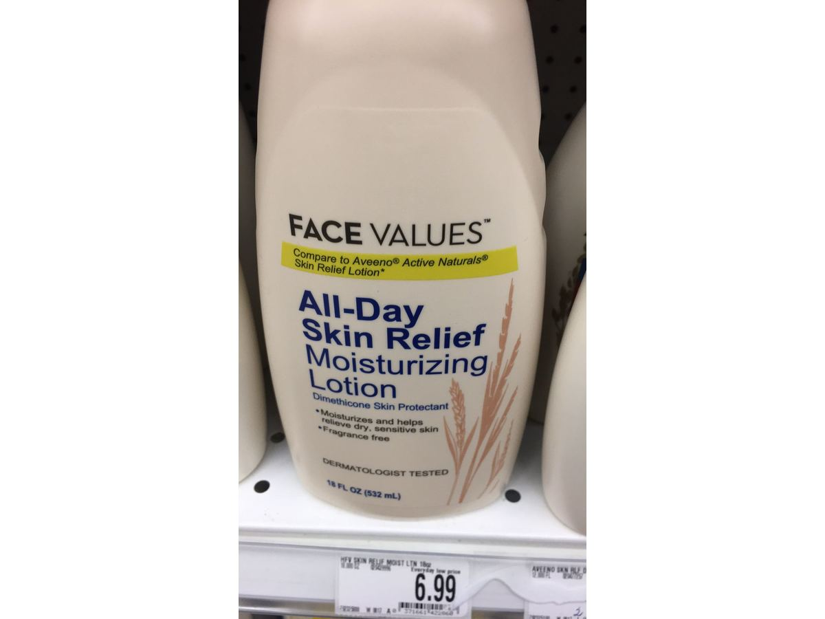 Harmon Face Values All Day Skin Relief Moisturizing Lotion