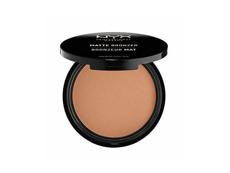 NYX Professional Makeup Matte Bronzer, Light, 0.33 oz