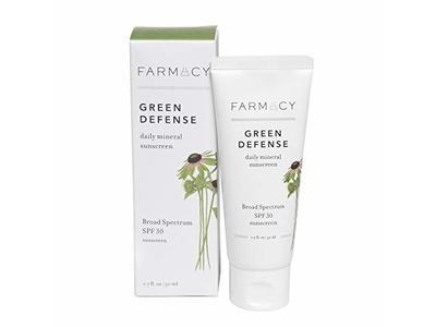 Farmacy Green Defense Broad Spectrum Mineral Sunscreen, SPF30, 1.7 fl oz