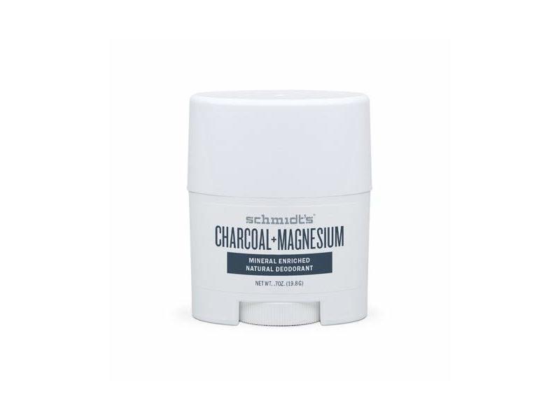 Schmidt's Charcoal Magnesium Mineral Enriched Natural Deodorant, 0.7 oz