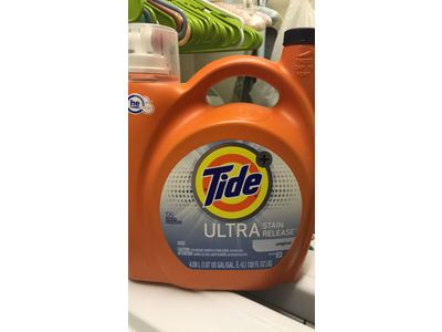 Tide Ultra Stain Release High Efficiency Liquid Laundry Detergent, 138 Oz - Image 3