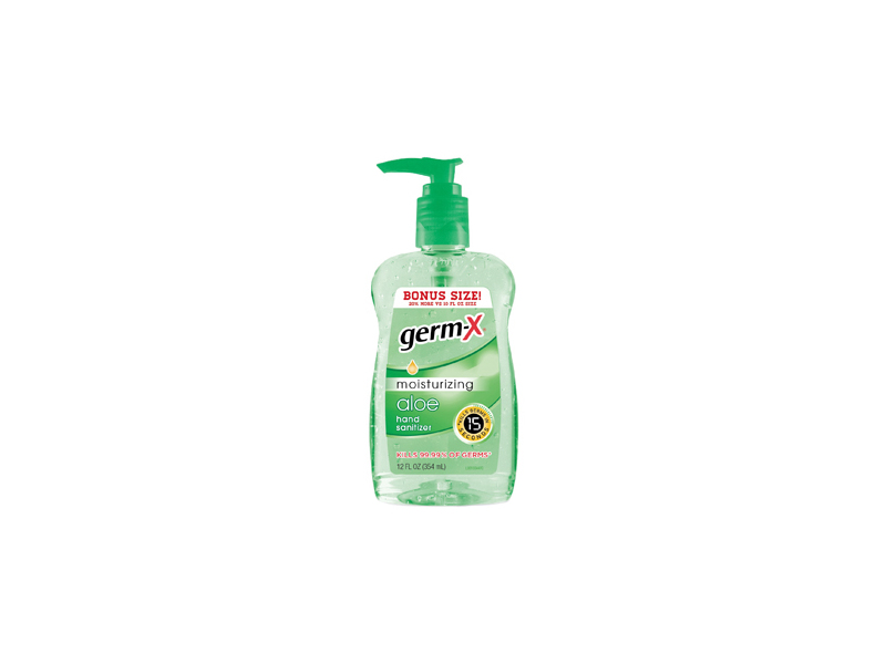 Germ-x Advanced Hand Sanitizer, Aloe, 12 fl oz
