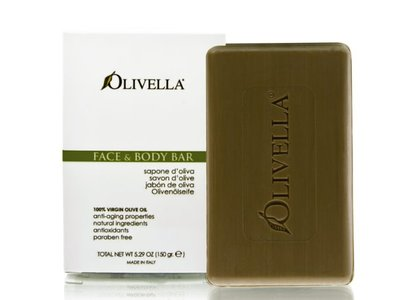 Olivella Virgin Olive Oil Face and Body Bar Soap - 5.29 Oz