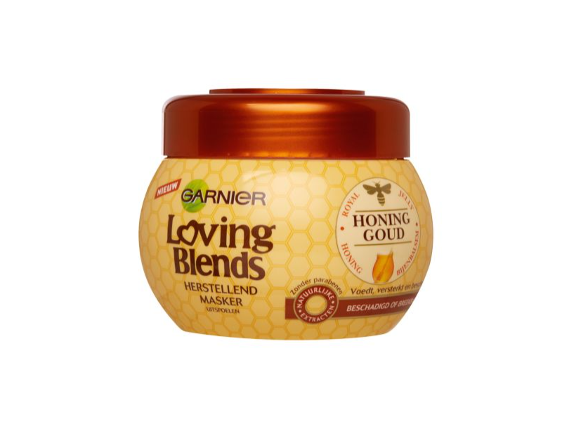 Garnier Loving Blends Honing Goud Shampoo, 300 ml