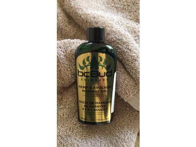 BC Bud Skincare Hemp & Avocado Massage Oil,120 ml /4 fl oz - Image 4
