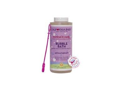 California Baby Overtired and Cranky Bubble Bath, 13fl oz (Pack of 3)