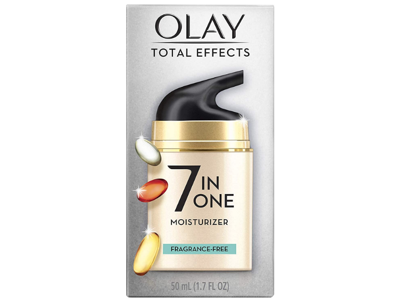 Olay Total Effects 7 In One Moisturizer, Fragrance-Free, 1.7 fl oz/50 mL
