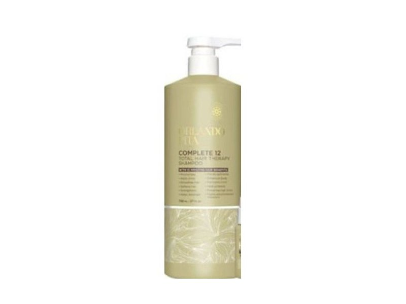 Orlando Pita Complete 12 Total Hair Therapy Shampoo, 27 Oz