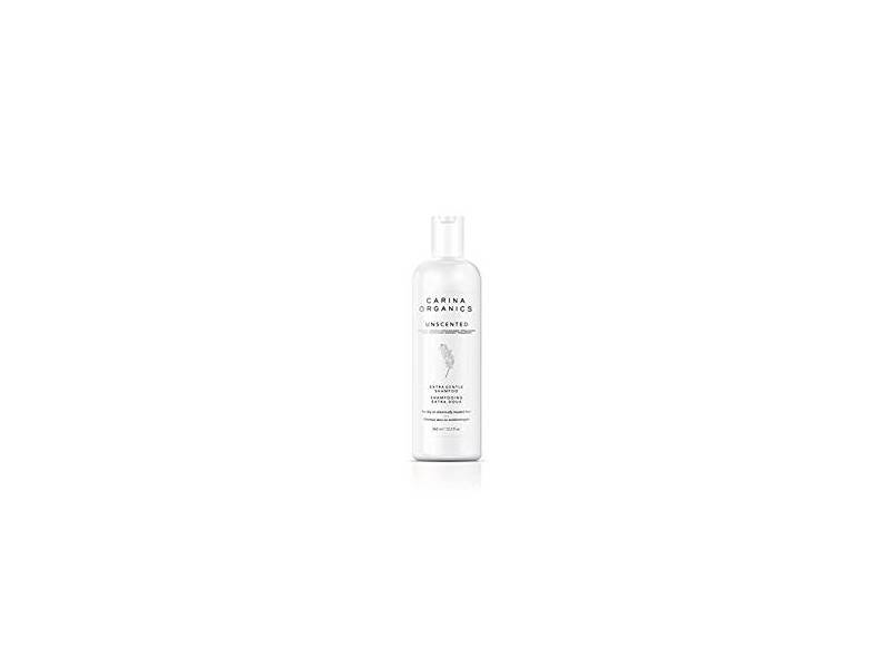 Carina Organics Unscented Extra Gentle Shampoo, 360 ml