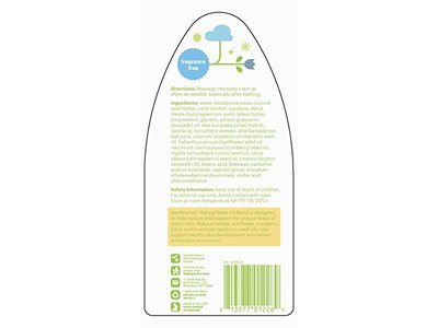 Babyganics Moisturizing Daily Lotion, Fragrance Free, 17 oz Pump Bottle - Image 3