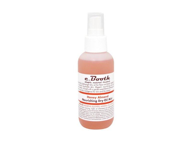 C. Booth Nourishing Dry Oil Mist, Honey Almond, 4 Fluid Ounce