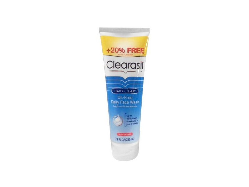 Clearasil Ultra 5 in 1 Exfoliating Acne Medication Wash, 7.8 Ounce (230 ml)