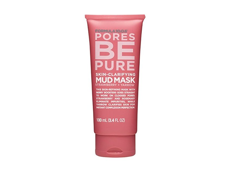 Formula 10.0.6 Pores Be Pure Skin Clarifying Mud Mask, 3.4 Fluid Ounce