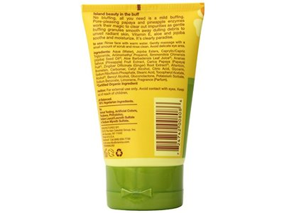 Alba Botanica Hawaiian Facial Scrub with Pineapply Enzyme, 4 Ounce (Pack of 6) - Image 4