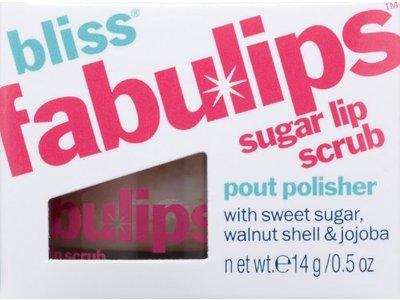 bliss Fabulips Sugar Lip Scrub, 0.5 oz. - Image 4