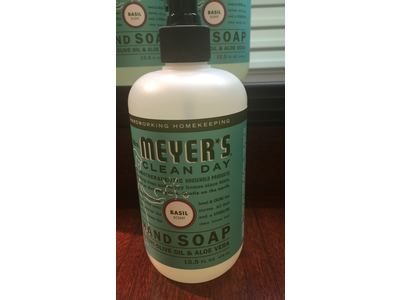 Mrs Meyers Clean Day Liquid Hand Soap Basil 12 5 Fl Oz