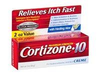 Cortizone-10 Maximum Strength 1% Hydrocortisone Anti-Itch Creme with Aloe, 2 oz. - Image 3