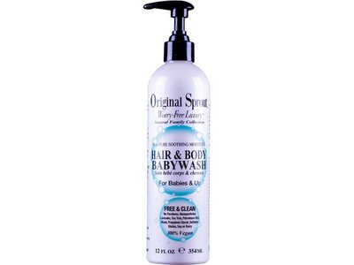 Original Sprout Hair & Body Baby Wash, 12 fl oz