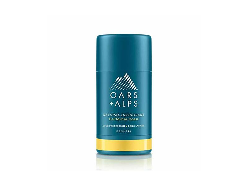 Oars and Alps Natural Deodorant for Men and Women, California Coast