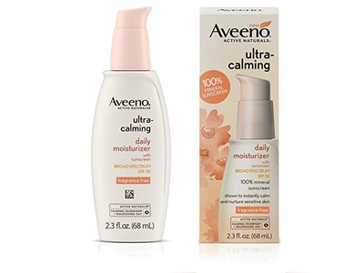 Aveeno Ultra-Calming Daily Moisturizer for Sensitive Skin with SPF 30, 2.3 fl. oz - Image 3
