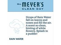 Mrs. Meyer's Clean Day Foaming Hand Soap, Rain Water Scent, 10 fl oz - Image 6