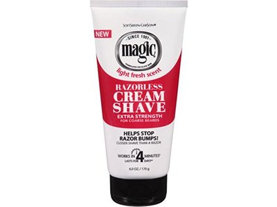 Magic Shave Cream Extra-Strength 6 oz (Pack of 12)