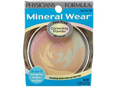 Physicians Formula Mineral Wear Talc-Free Mineral Correcting Powder, Natural Beige, 0.29 Ounce - Image 8