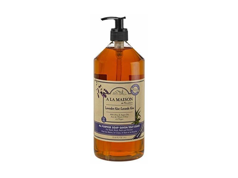 A La Maison All Purpose Soap, Lavender Aole, 33.8 fl oz (1L)