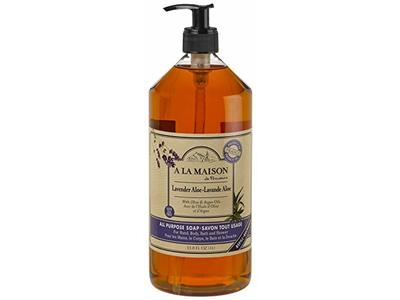 A La Maison All Purpose Soap, Lavender Aole, 33.8 fl oz (1L)