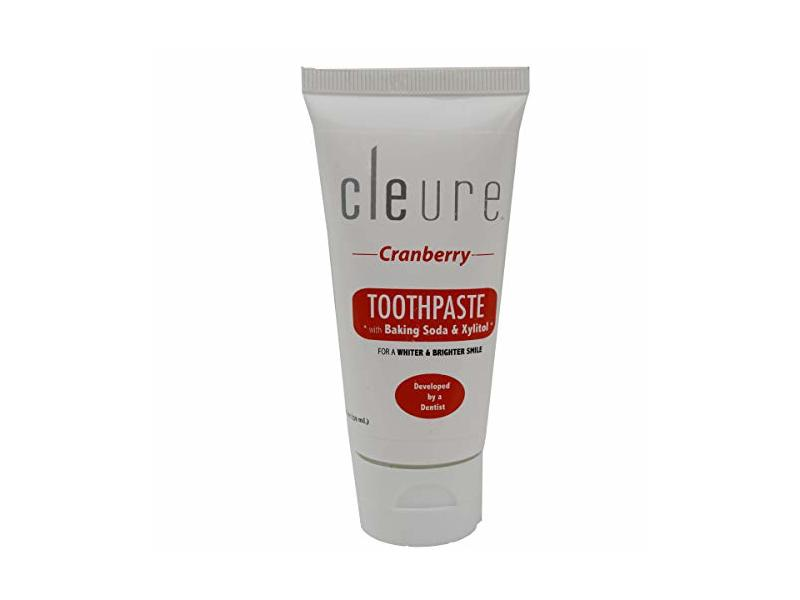 Cleure Toothpaste, Cranberry, 2 oz