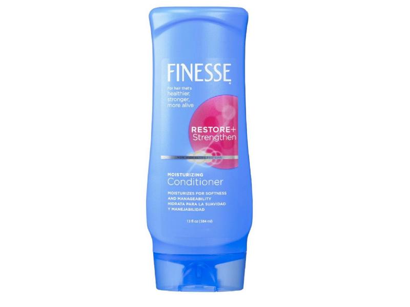 Finesse Moisturizing Conditioner, Restore + Strengthen, 13 fl oz/384 ml, Pack Of 4