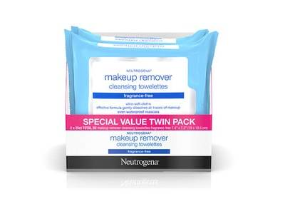 Neutrogena Fragrance Free Makeup Remover Facial Wipes