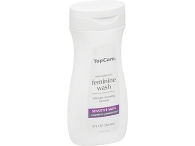 TopCare Feminine Wash Sensitive Skin, 9 fl oz