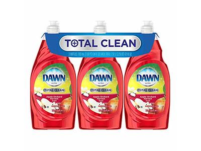 Dawn Ultra Total Clean, Apple Orchard (24 oz, 3pk, 72 oz total)